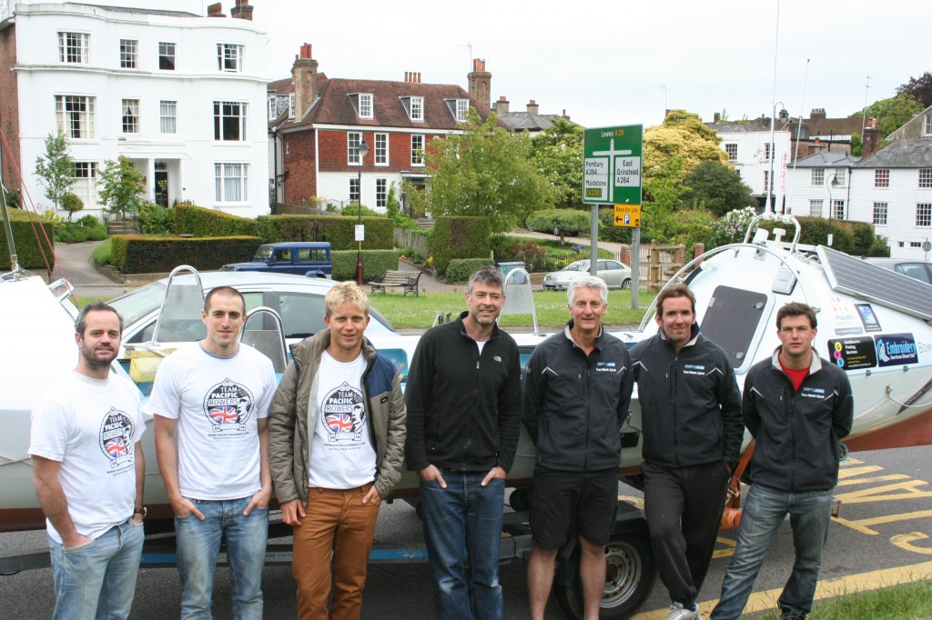 l-r: James Wight, Fraser Hart, Sam Collins, Scott Gilcrest, Neal Marsh, Bastien Leclair, Tom Hyland